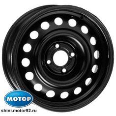 Штампованный диск Trebl X40028 5x14/5x100 D57.1 ET40 Black - фото 2
