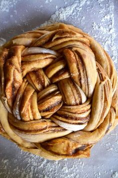 Brown Butter & Cinnamon Sweet Potato Challah Bread - Yin and Yolk Sweet Potato Bread, Sweet Potato Cinnamon, Cinnamon Bread, Sweet Potato Recipes, Challah Bread Recipes, Bread Maker Recipes, Sicilian Recipes, Jewish Recipes, Sicilian Food