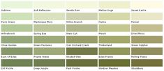 lowes sage green color chart | Valspar Lowes - American Tradition - by Materials-World.com