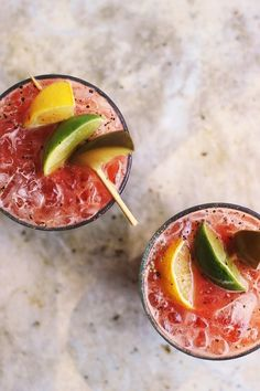 Fresh Heirloom Bloody Marys with Old Bay and Spicy Pickles | @withfoodandlove