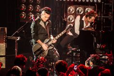 Sixx: A. will be a touring band next year and got in their first show in a long while on Tuesday at Los Angeles' iHeart Radio Theater. Sixx Am, Touring, Rock And Roll, Dj, Stage, Concert, Music, Fictional Characters, Favorite Things