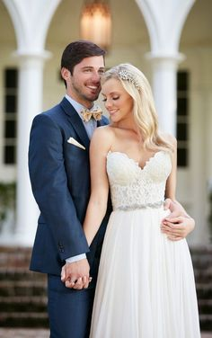 Celia+Shae Sexy Wedding Dress Separates by Martina Liana