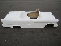1955 Chevrolet Belair Convertible hot rod stroller pedal car fiberglass body