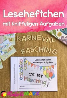 Faschungs and carnival reading book Education Faschungs Carnival reading book and German Resources, Books To Read, How To Apply, Reading, Blog, Primary Education, Carpe Diem, Kindergarten, Educational Activities