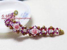 BeeJang - [Tutorial] Floral Elegance Bracelet