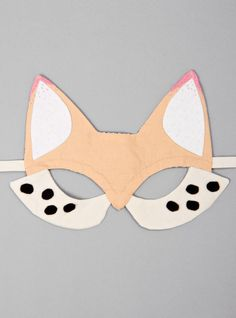 Couverture and The Garbstore - Childrens - Toys - Handmade Fox Mask