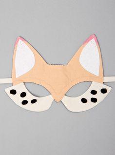 Handmade Fox Mask