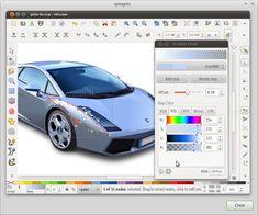 Inkscape editor de gráficos vectorial (svg)