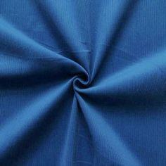 100% Baumwolle Feincord Babycord  Fashion Classic  Farbe Royal-Blau