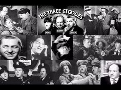 The Three Stooges This is a Funny Classic Moe, Larry and Curly are just to funny. The Three Stooges, The Stooges, Hooray For Hollywood, Hollywood Icons, Famous Movies, Famous Faces, Abbott And Costello, Laurel And Hardy, Old Shows