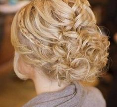 15 Braided Updos for Short Hair