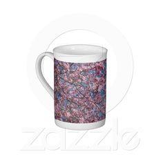 Cherry Blossoms Bone China Mug