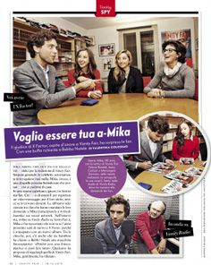 "Mika ""Voglio essere tua a-Mika"" - Vanity Fair Italia - Dec 18 2013 - Italian"
