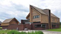 modern rieten dak gemaakt door Pape Rietdekkers