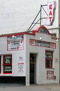 One of 20 great (small) Virginia restaurants Road Trip!  11. Texas Tavern, Roanoke
