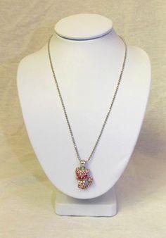 Cookie Lee Pink Cat Necklace #CookieLee