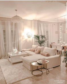 Home Room Design, Home Interior Design, Living Room Designs, Interior Styling, Living Room Decor Cozy, Home Living Room, Decorating Small Living Room, Small Apartment Living, Small Living Rooms