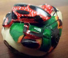 Wounaan Embera Poison Dart Frog Tagua Carving-Panama 3.97083