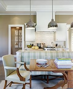 3 Staggering Ideas: Coastal Dining Room coastal home living room.Coastal Living Room With Dark Wood coastal lamp white kitchens.Coastal Living Room With Dark Wood. Coastal Farmhouse Kitchen, Home, Home Kitchens, Kitchen Corner, Kitchen Remodel, Kitchen Decor, Kitchen Nook, Farmhouse Kitchen Design, Kitchen Interior
