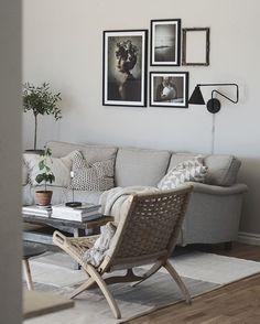 Scandinavian Interior Design, Beautiful Interior Design, Living Room Inspiration, Home Decor Inspiration, Living Room Interior, Living Room Decor, Interiores Design, Home And Living, Living Room Designs