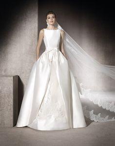 f994f8ec50fa29 175 - Bruidsmode - Bruidscollecties - Bruidshuis Diana Boat Neck Wedding  Dress