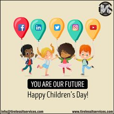 This Children Day, join hands and move towards a digital future.  #HappyChildrensDay #ChildrensDay2019 #ChildrensDaySpecial #ChildrensDayCelebration #jawaharlalnehrujayanti #creativity #socialmediamarketing #DigitalMarketing