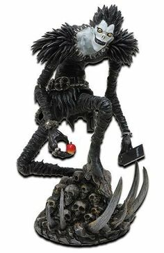 Death Note: Season 1 Ryuk Action Figure by Jun Planning. $18.99. Light Yagami is an ace student with great prospects - and he's bored out of his mind. But all that changes when he finds the Death Note, a notebook dropped by a rogue Shinigami death god. Any human whose name is written in the notebook dies, and now Light has vowed to use the power of the Death Note to rid the world of evil. But when criminals begin dropping dead, the authorities send the legendary detec...