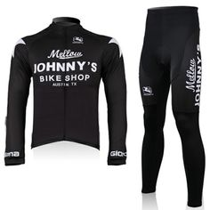 2010 Mellow Johnny s Bike Shop Black Long Sleeve Cycling Jersey Ropa  Ciclismo Cycling Clothing + Cycling 00140815c