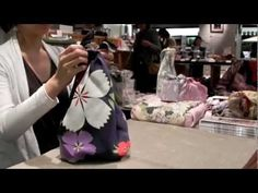 How to make a bag using Furoshiki (wrapping cloth)