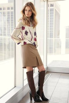 | Women's Classic Work Outfits For Fall-Winter 2014-2015