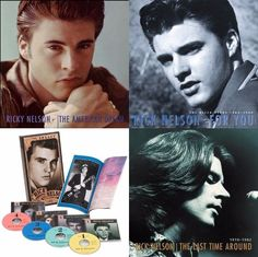Again I say ALL of Ricky's box sets are dank as junk! Love them! If he's on it or in it I own it! And on me lol tattoos man. Same as Bobby. I Don't have Bobby Vinton & Ricky Nelson rooms for nothing! Yup I'm spoiled with such awesome adorableness!! <3