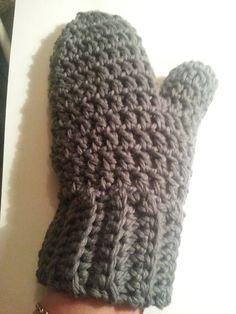 Hæklet håndledsvarmer       Hæklet håndledsvarmer indvendig    Hæklet vante     Her har jeg lavet 2 vanter ud fra 1 mønster og du kan sel...