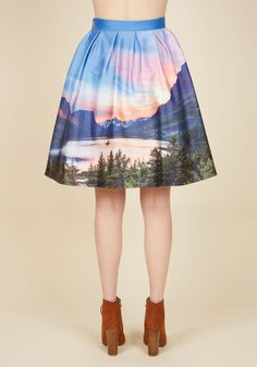 Hey, Soul Vista Skirt. Show everyone that wide open spaces make your heart sing…