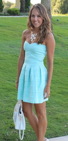 Simple Homecoming Dress,Light Blue Homecoming Dresses,Modest Homecoming Dress,Cute