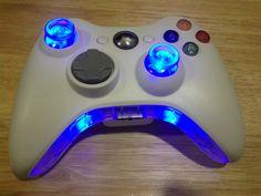 Xbox 360 Custom Controller With Flash LEDs on Etsy, $69.99