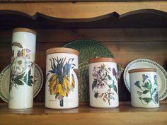 Vintage Portmeirion Botanical Garden Canisters Https://www.etsy.com/listing