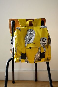 FREE SEWING-PATTERN 'My first backpack' Oekeboeleke
