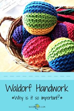 Waldorf Handwork: Why is it so important?