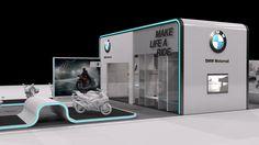 Exhibition Design | Stand BMW Motorrad 2015 by underline-concept.com