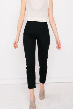 Jolene Pant in Cotton Twill
