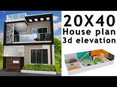 Small House Design 800 Sq Ft 25 Elegant House Plan with Elevation by Nikshail 2bhk House Plan, 3d House Plans, Indian House Plans, Model House Plan, Duplex House Plans, Dream House Plans, House Outside Design, House Front Design, Small House Design