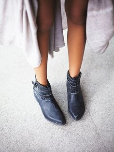 boots? for fall? need them now... // faryl robin + Free People Meray Lace Up Boot at Free People Clothing Boutique