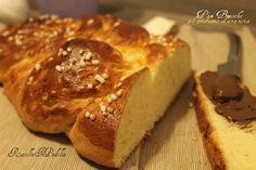 Treccia di Pan Brioche al profumo d'arancia | RossellaInPadella