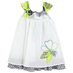White Dress | Jean Bourget | Designer Kids Clothes