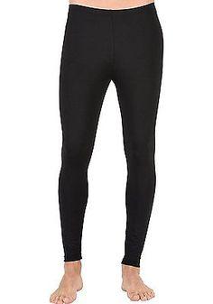 X-Small, Black, Trigema Unisex Trigema Herren Leggings Polyester/elastan Sports