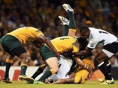 Hart, härter, Rugby: Bilder der WM