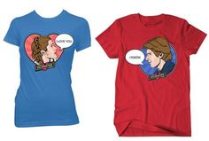 Geek Love: His and Hers Star Wars T-Shirts