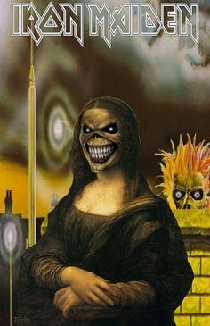 Heavy Metal, Heavy Rock, Bruce Dickinson, Beatles, Iron Maiden Posters, Iron Maiden Shirt, Eddie The Head, Creepy Images, Best Iron