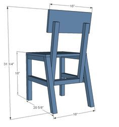 Ana White | Build a Harriet Chair | Free and Easy DIY Project and Furniture Plans
