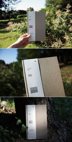 소재와 기능의 본질 백상점 [whitestore] essence of the materials and function. easy notebook large size 130x210mm